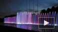 В Петербурге запустили 100-метровый фонтан