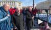 Сборная России по футболу почтила память жертв трагедии в Кемерово на Дворцовой площади