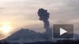 На Камчатке вулкан Шивелуч выбросил столб пепла высотой ...