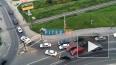 Видео: из-за ДТП образовалась огромная пробка при ...