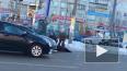 Видео: в Озерках иномарка сбила женщину на переходе