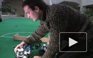 Студенты СПбГУ превратились в тренеров. Воспитывают футбольную команду из роботов