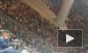 """Видео: фанаты """"Локомотива"""" разделись после 3-го мяча в ворота """"Зенита"""""""