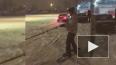 В Приморском районе петербуржец прокатился на сноуборде ...