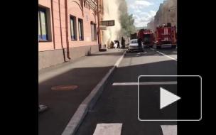 В центре Петербурга загорелся магазин