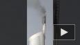 В Дубае загорелся 360 метровый небоскреб Almas Tower