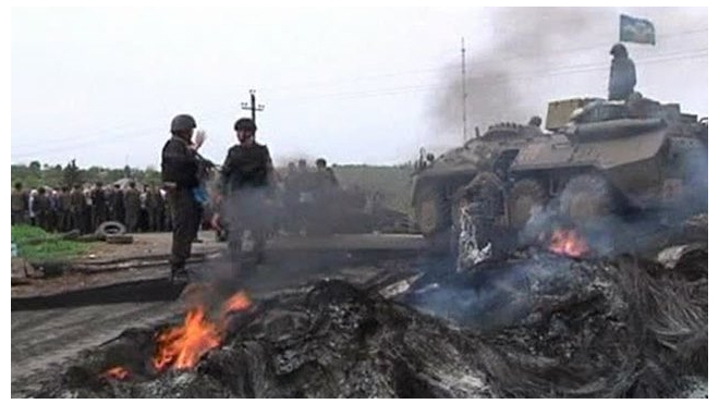 Последние новости Украины: в Славянске убита петербурженка, ополченцы сбили два штурмовика