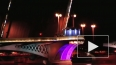 В Петербурге - пробная разводка мостов. Начали с Благове...