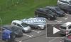 Отважная леди защищала свой автомобиль от урагана в Москве