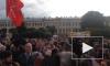 Появилось первое видео с митинга против моста Кадырова в Петербурге