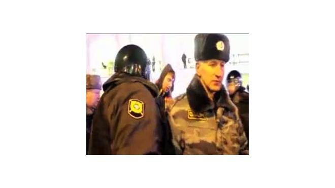 Праздник в отделении милиции.  Нетрезвым фанатам  не дали  погулять