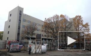 """Новый корпус """"Госпиталя для ветеранов войн"""" готов на 62%"""