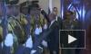 Владимир Путин помог офицеру палестинской гвардии с упавшей фуражкой