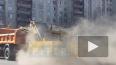 Столбы пыли и куча грязи: петербуржцы сняли на видео ...