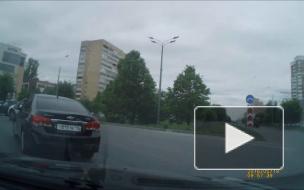 Неадекватное вождение в Казани.