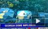 Зрелищное видео: в Атланте мощным взрывом снесли футбольный стадион