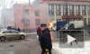 На перекрестке Ольги Берггольц и улицы Седова загорелась газель