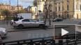 Видео: автомобиль врезался в столб на Владимирской ...