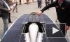 Экомобиль на солнечной батарее приехал в Петербург
