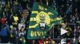 На матче Анжи – Тоттенхэм фанаты шли стенка на стенку