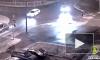 Появилось видео с моментом наезда на 50-летнего пешехода в Пушкинском районе