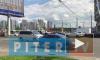Видео: из-за сломанного светофора на проспекте Славы образовалась огромная пробка
