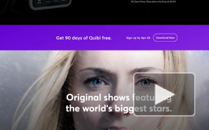 Запущен стриминговый сервис коротких видео Quibi