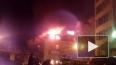 В Томске загорелось административное здание