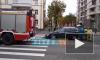 На улице Савушкина столкнулись Вольво и БМВ