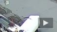 Видео из Ярославля: трамвай протаранил грузовик