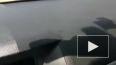 На видео попала затопленная улица в Петербурге из-за ...
