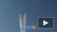 В небе Петербурга красовались истребители (видео)