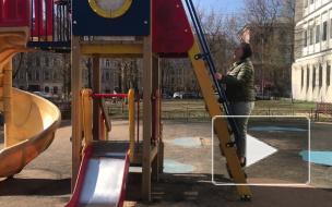 На Васильевском острове местных жителей лишили детской площадки