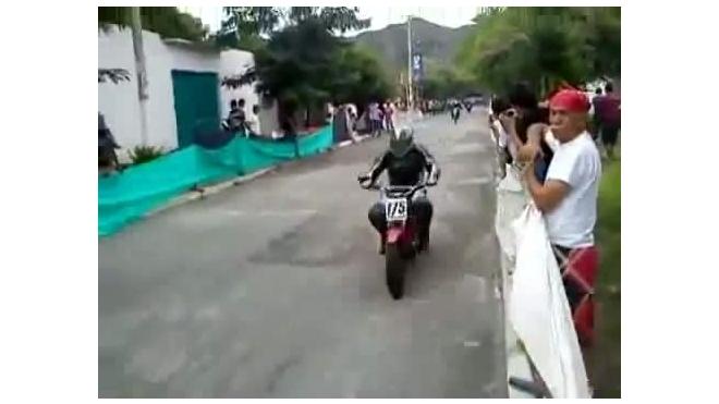 Едва увернулась от мотоцикла