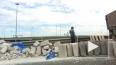 Нашелся хозяин бетонных блоков, которые просыпал грузови...