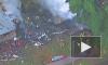 Появилось видео крушения самолета в Калифорнии