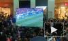 """В """"Галерее"""" болельщики устроили массовые овации после победы России над Испанией"""