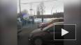 На проспекте Ветеранов столкнулись две иномарки: на асфа...