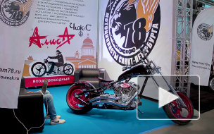 Драйв, мощь, рёв мотора: В Петербурге прошла Мотовыставка IMIS