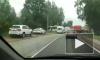 В Ленобласти произошло смертельное ДТП с маршруткой и Камазом