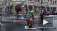 В пожаре на Петроградке пострадал один человек
