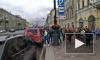 """Петербуржцы: блогерГусейн Гасанов нарушает ПДД на своем красном """"Гелентвагене"""""""