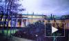 Шторм повалил новогоднюю ель у Таврического дворца в Петербурге