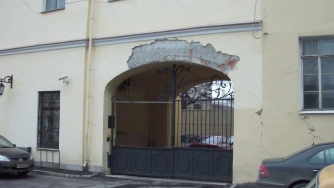 Звенигородская пошла трещинами