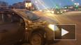 На Бухарестской улице столкнулись Mitsubishi и Chevrolet