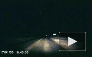 В Архангельской области пролетел метеорит (Видео)