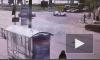 Момент ДТП на Херсонской попал на видео