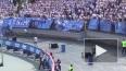 Фанаты Зенита громили колонки, матерились и крыли НТВ