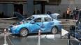 """Очевидцы: у гостиницы """"Санкт-Петербург"""" в машине взорвал..."""