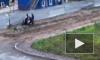 Очевидцы засняли, как трое неизвестных избивают палкой мужчину на улице Маршала Казакова